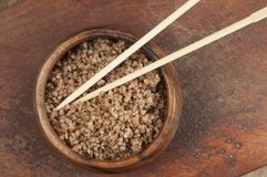 Buckwheat kasha Royalty Free Stock Photo
