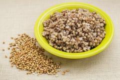 Buckwheat kasha cooked Stock Image