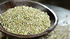 Buckwheat (loopable video) Royalty Free Stock Photo