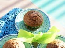 Buckwheat muffins Royalty Free Stock Photography