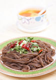 Buckwheat noodles Royalty Free Stock Image