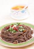 Buckwheat noodles Royalty Free Stock Image