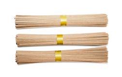 Buckwheat noodles Stock Image