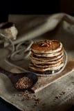 Buckwheat pancakes Royalty Free Stock Image