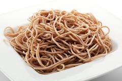 Buckwheat Pasta Royalty Free Stock Image