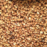 Buckwheat. This pattern consists of a strew of crude buckwheat Stock Photography