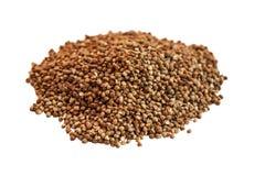 Buckwheat pile stock photo