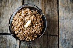 Buckwheat porridge Stock Images