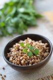 Buckwheat porridge Stock Photography