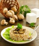 Buckwheat porridge Stock Image