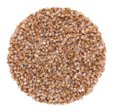 Buckwheat, ready to eat in the form of a ball Royalty Free Stock Photo