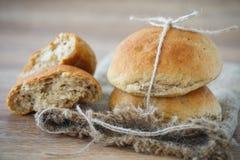 Buckwheat scones Stock Photo