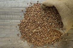 Buckwheat seeds Stock Photography