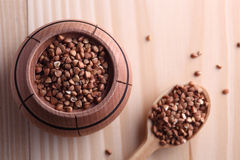Buckwheat seeds Royalty Free Stock Photos