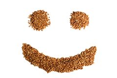 Buckwheat smile Stock Photography