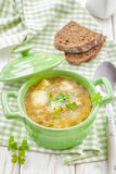 Buckwheat soup Stock Photography