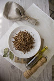 Buckwheat with spicies Royalty Free Stock Images