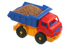 Buckwheat in the truck Royalty Free Stock Photography