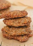 Buckwheat vegetarian patty Royalty Free Stock Image