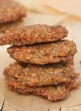 Buckwheat vegetarian patty Royalty Free Stock Image