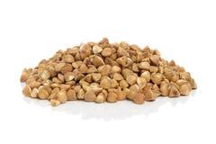Buckwheat  on White Background Royalty Free Stock Images