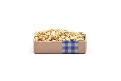 Buckwheat on white Stock Image