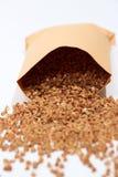Buckwheat on white Stock Images