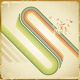 Bucle retro Imagen de archivo libre de regalías