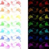 Bucles abstractos Fotografía de archivo