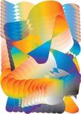 bucles del gradiente imágenes de archivo libres de regalías