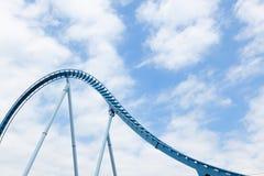 Bucles del roller coaster. Fotos de archivo libres de regalías