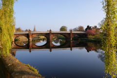 Bucluech St Bridge Dumfries stock image