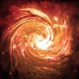 Buco del verme dorato - elementi di questa immagine ammobiliati dalla NASA Fotografia Stock