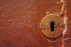 Buco della serratura Immagine Stock Libera da Diritti