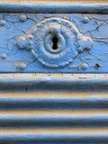 Buco della serratura Fotografia Stock Libera da Diritti