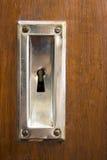 Buco della serratura Immagine Stock