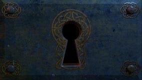 Buco della serratura celtico Fotografia Stock