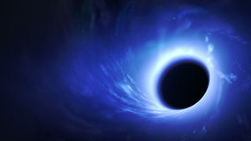 Buco nero illustrazione di stock