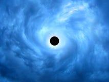 Buco nero immagini stock