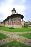 bucovina摩尔达维亚修道院罗马尼亚sucevita 免版税库存图片