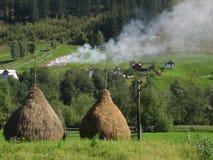 Bucovina dream series. A beautiful landscape from Bucovina, Romania Royalty Free Stock Image