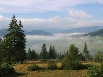 Bucovina landscape Royalty Free Stock Photos