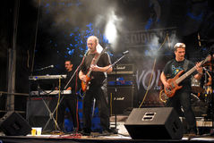 Bucovina Performing Live at Seawolves Stock Photo