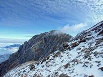 Bucsoiu klacza szczyt Fotografia Royalty Free