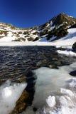 Bucura Lake in National Park Retezat Stock Photography