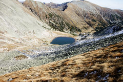 Bucura lake in Retezat mountains Stock Photo