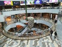 BucureÈ™ti购物中心在Bucarest 免版税库存图片