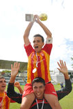 Bucuresti players rejoice Royalty Free Stock Photo