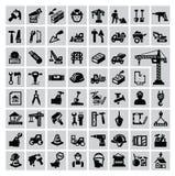 Budów ikony Obraz Stock