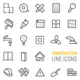 Budów ikony ustawiać ściągania ilustracj wizerunek przygotowywający wektor Obraz Stock